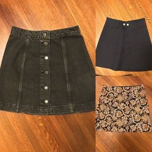 Three skirt bundle